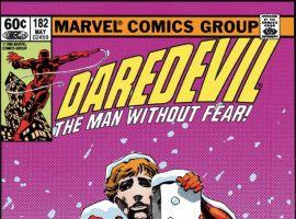 DAREDEVIL #182 COVER