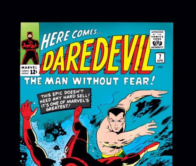 DAREDEVIL #7 COVER
