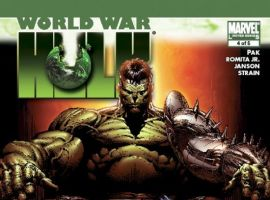 World War Hulk #4 Finch Cover