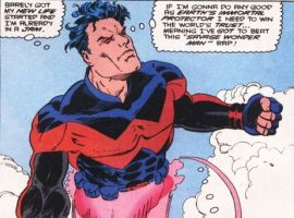 Wonder Man's 90's look