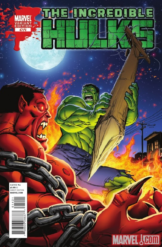 INCREDIBLE HULKS #614 variant cover by Salvador Espin