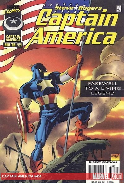 Captain America #454