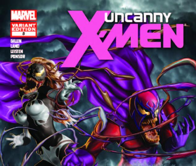 UNCANNY X-MEN 5 VENOM HORN VARIANT 