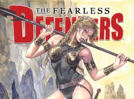 cover from Defenders II (2013) #1 (MANARA VARIANT)