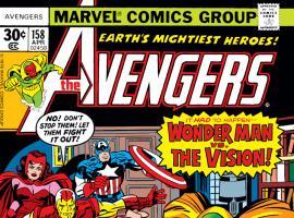 Avengers (1963) #158 Cover
