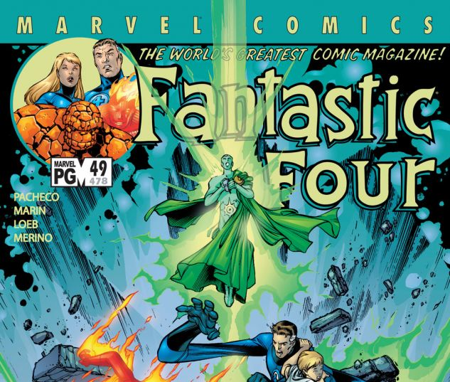 Fantastic Four (1998) #49 Cover