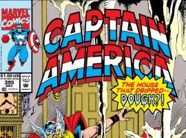 Captain America (1968) #395 Cover