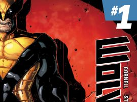 Wolverine (2014) #1 second printing variant cover by Ryan Stegman