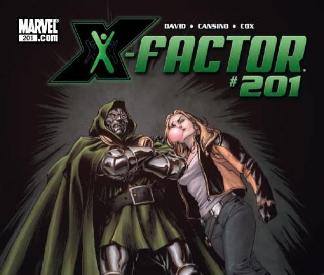 X-FACTOR #201 Cover by David Yardin