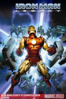 Iron Man Legacy #1  (LARROCA (50/50 COVER))