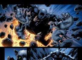 THE ORDER #8 preview art by Barry Kitson
