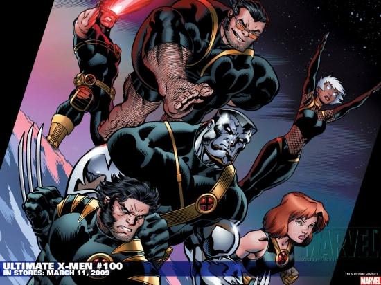 Ultimate X-Men (2000) #100 Wallpaper