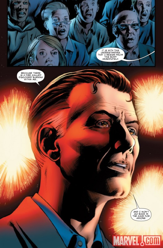 FANTASTIC FOUR #579 preview art by Neil Edwards