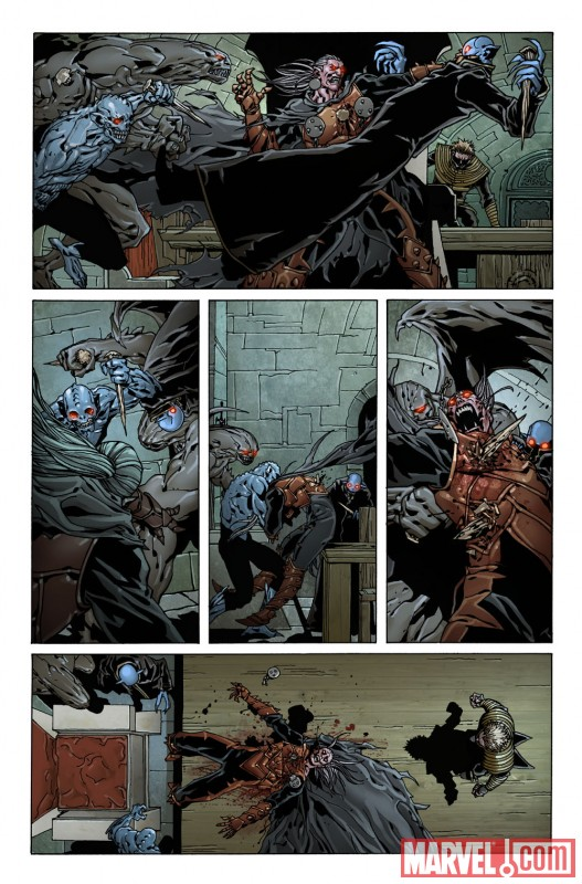 DEATH OF DRACULA preview art by Giuseppe Camuncoli 6
