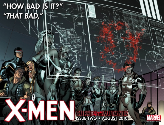 X-MEN #2 teaser art by Paco Medina