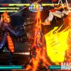 Screenshot of Dormammu and Ryu from Marvel vs. Capcom 3