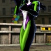She-Hulk in Marvel vs. Capcom 3