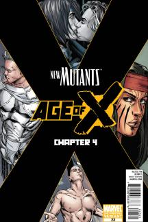New Mutants (2010) #23 (2nd Printing Variant)