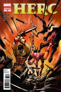 Herc (2010) #10 (Oeming Variant)