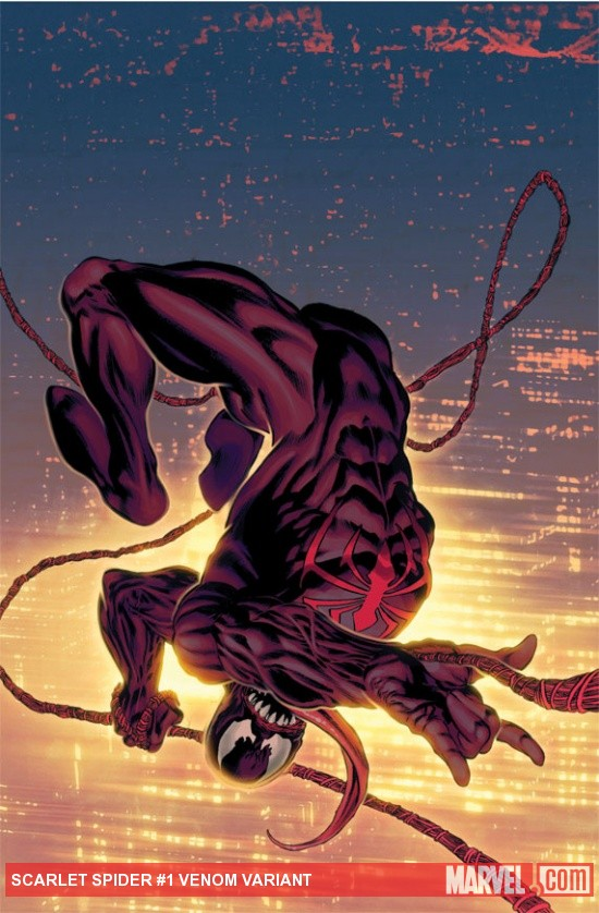 Scarlet Spider #1 variant cover by Mike Perkins