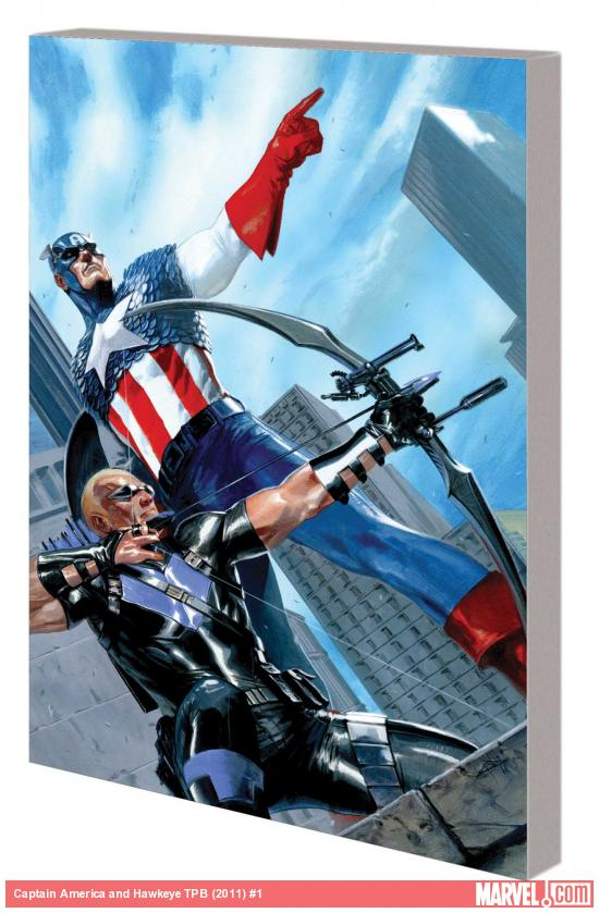 CAPTAIN AMERICA AND HAWKEYE TPB