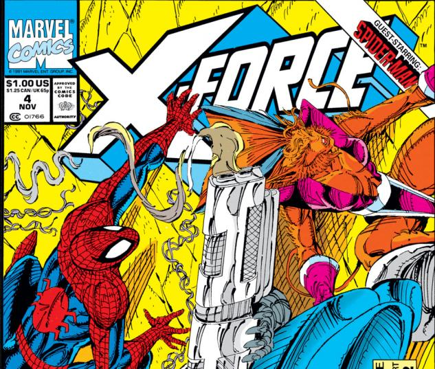 X-Force (1991) #4 Cover