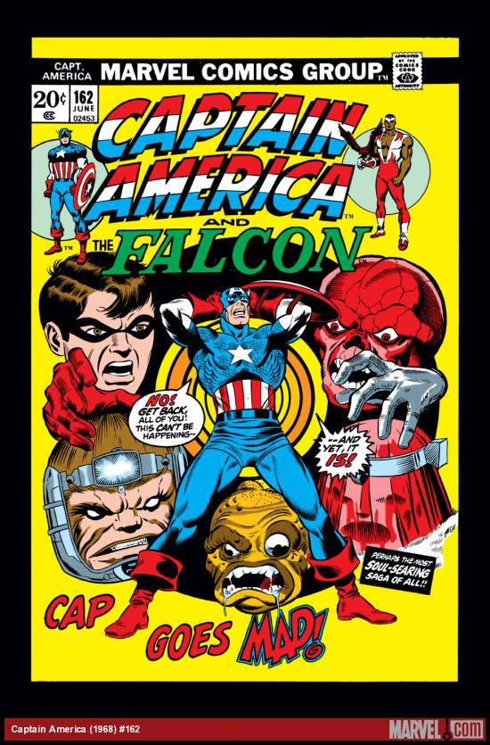 Captain America (1968) #162 Cover