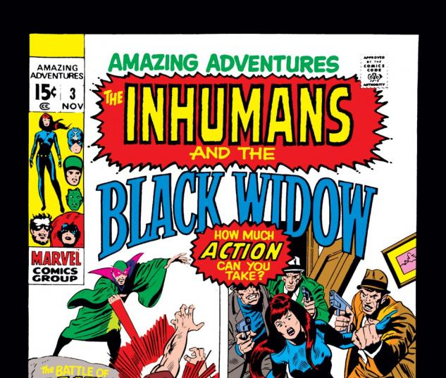 Amazing Adventures (1970) #3 Cover