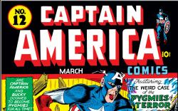 Captain America Comics (1941) #12 Cover