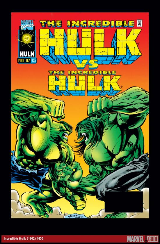 Incredible Hulk (1962) #453 Cover