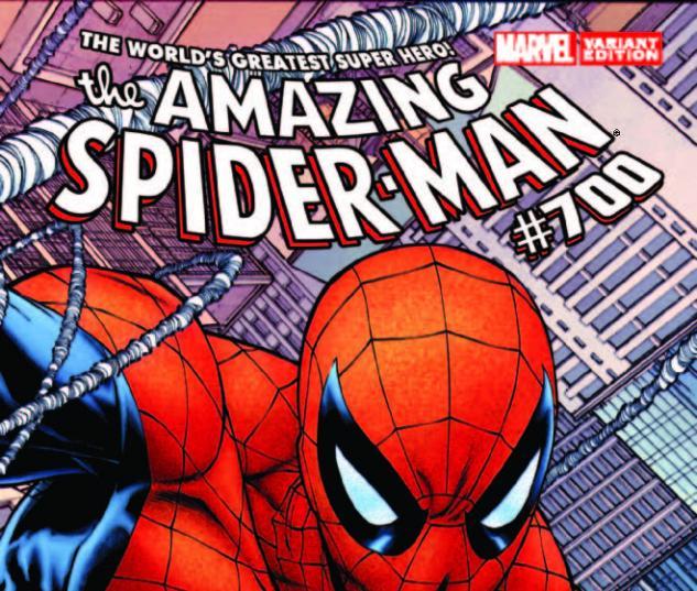AMAZING SPIDER-MAN 700 QUESADA WRAPAROUND VARIANT