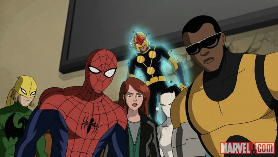 The gang's all here in Marvel's Ultimate Spider-Man