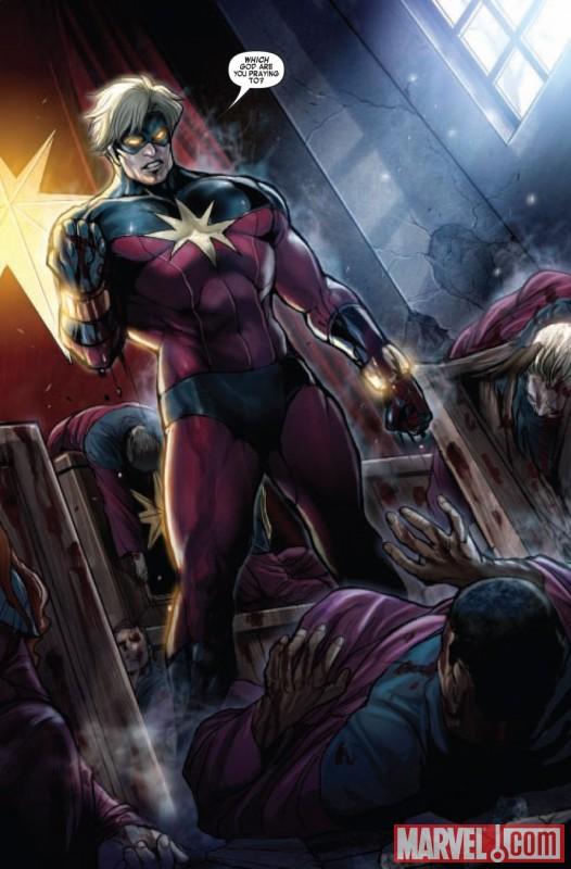 captain marvel quasar