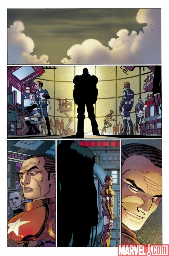DARK REIGN: THE LIST - PUNISHER preview art by John Romita Jr.