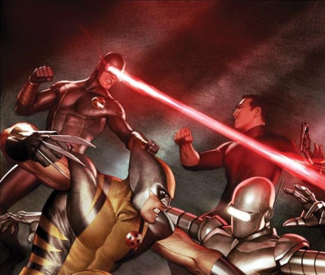 X-MEN VS AGENTS OF ATLAS #2 cover by Adi Granov