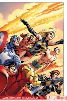 Avengers/Invaders (2008) #4 (DAVIS VARIANT)