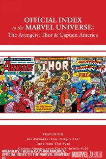 Avengers, Thor & Captain America: Official Index to the Marvel Universe #5