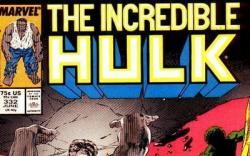 INCREDIBLE HULK #332 cover