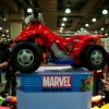 Marvel electronic bike at Toy Fair 2011