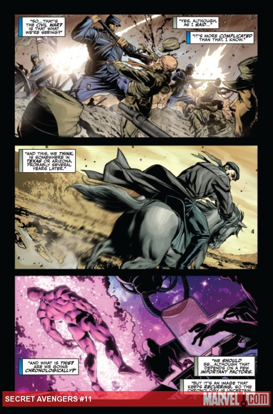 Secret Avengers #11 preview art by Roberto Delatorre 
