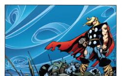 The Mighty Thor #1 variant cover by Walt Simonson