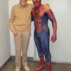 Costoberfest 2011 - Terrance as Spider-Man with Stan Lee