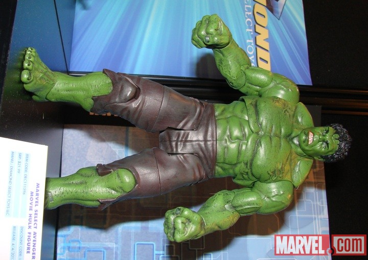 Marvel Select Hulk figure