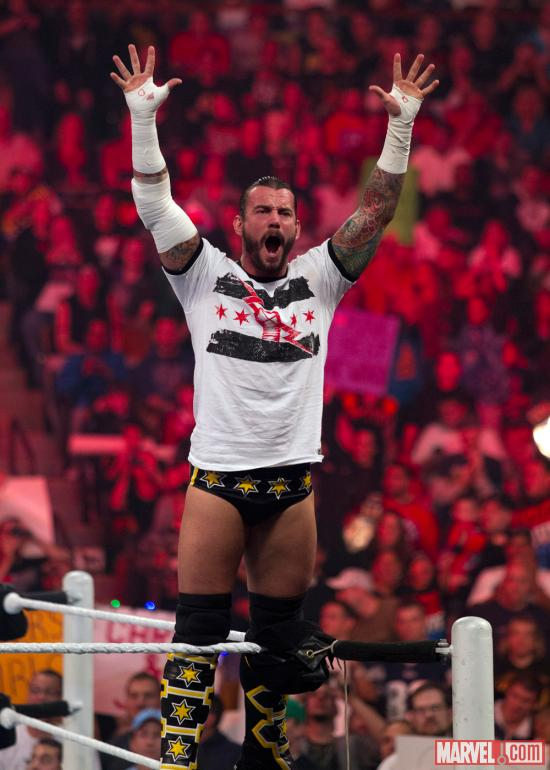 CM Punk (photo courtesy of WWE)