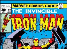 Iron Man (1968) #100 Cover