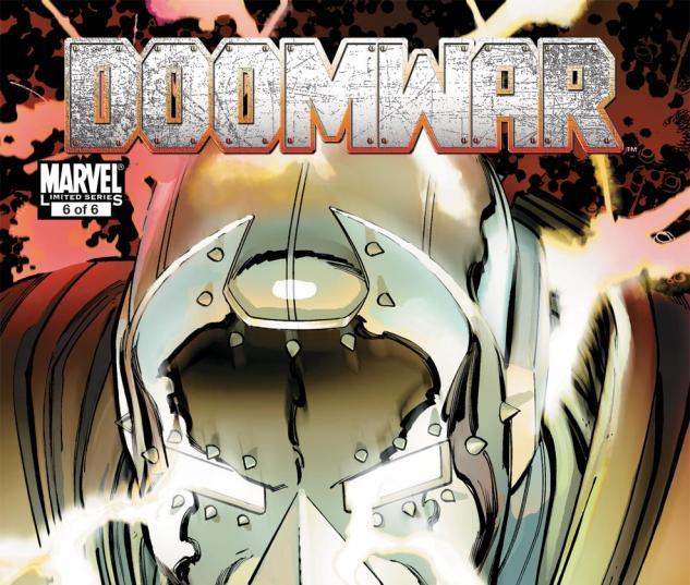 Doomwar (2010) #6 Cover