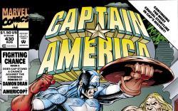 Captain America (1968) #430 Cover