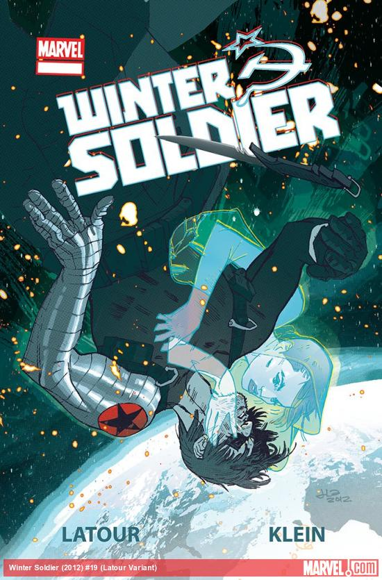 Winter Soldier #19 variant cover by Jason Latour