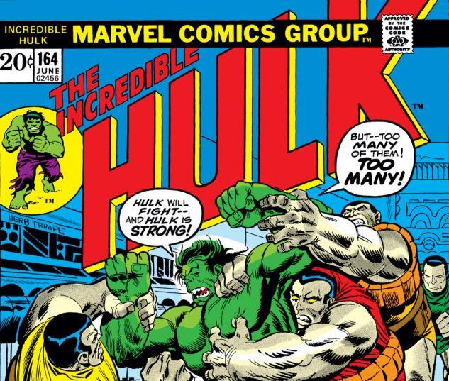 Back To The Future 1962 1975 May 2013: Incredible Hulk (1962) #164