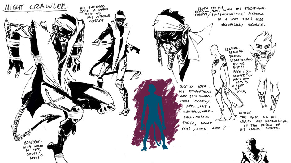 Secret Wars Journal sketch by Luca Pizzari